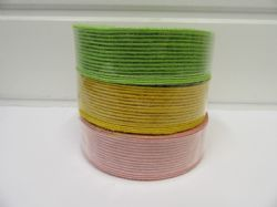 * 2 metres or 10 metre Roll 15mm 25mm Vintage Hessian Ribbon Double sided Net